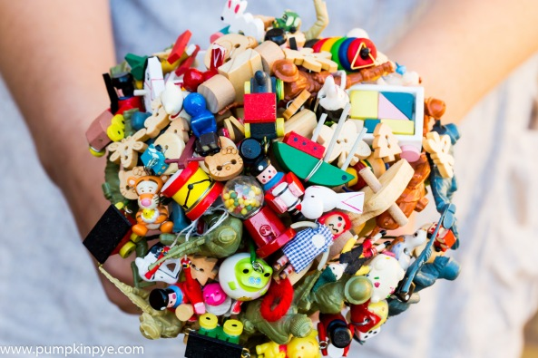 toy bouquet