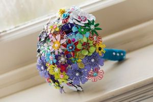 enamel bouquet, alternative bouquet