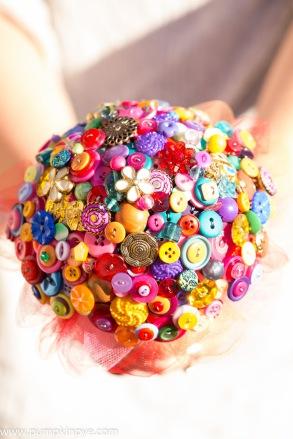 button bouquets, alternative bouquet,