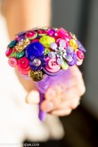 button bouquets, bridesmaids bouquet