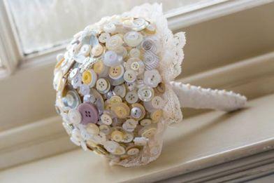 button bouquet, button bouquets