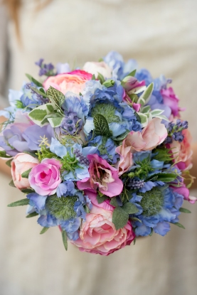 silk flower bouquet