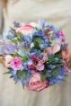 silk flower bouquet